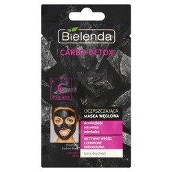 Bielenda Carbo Detox Maska węglowa oczyszczająca Cera dojrzała 8g
