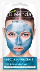 Bielenda Maska metaliczna Blue Nawilżająca 8g