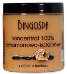 BingoSpa Koncentrant cynamonowo-kofeinowy z olejem baobabu 250g