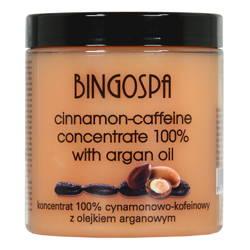 BingoSpa Koncentrat cynamonowo-kofeinowy z olejkiem arganowym 250ml
