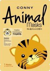 Conny Animals Maska Tygrys nawilżająca 1 szt