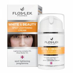 FlosLek White& Beauty Krem wybielający przebarwienia