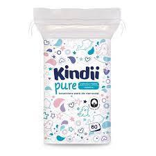 Kindii Baby Sensitive Płatki kosmetyczne dla niemowląt 60 szt