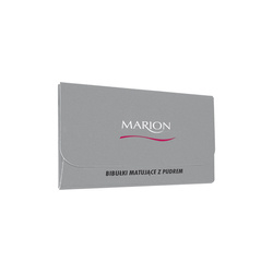Marion Bibułki matujące z pudrem 50 szt