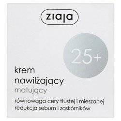 Ziaja 25+ Krem nawilżająco matujący n/d 50 ml