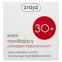 Ziaja 30  Krem nawilżający z kwasem hialuronowym 50ml
