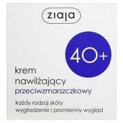 Ziaja 40+ Krem nawilżający przeciwzmarszczkowy n/d 50ml