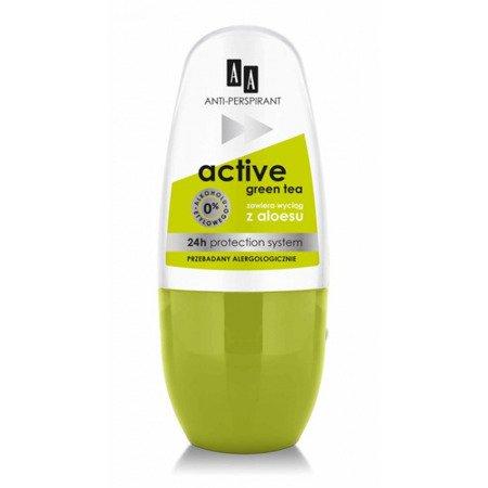 AA Deo Active Green Tea Roll-on 50ml