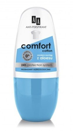 AA Deo Comfort Cotton Roll-on 50ml