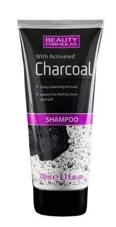 Beauty Formulas Oczyszczający szampon z aktywnym węglem 200ml