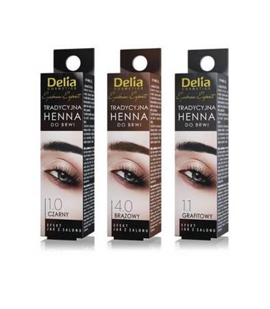 Delia Henna d/bi 4.0 Brązowa Tradycyjna 1 szt.