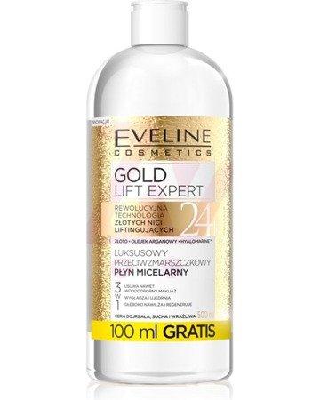 Eveline Gold Lift Expert Płyn micelarny 3w1 500ml