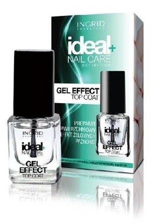 Ingrid Ideal Nail Top Coat Maxi Shine Preparat nabłyszczający 7ml