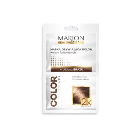 Marion Maska do włosów brąz - Ożywiająca kolor